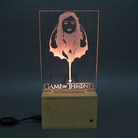 Luminária Game Of Thrones
