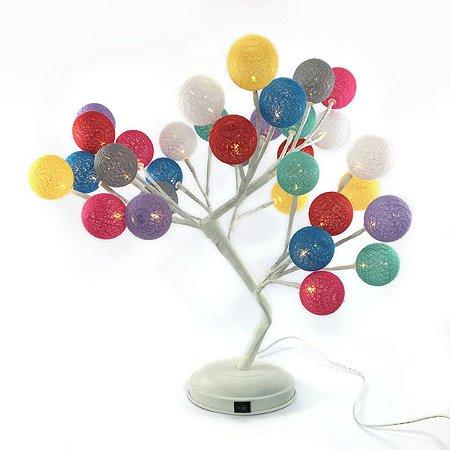 Árvore De Luz Decoração colorida