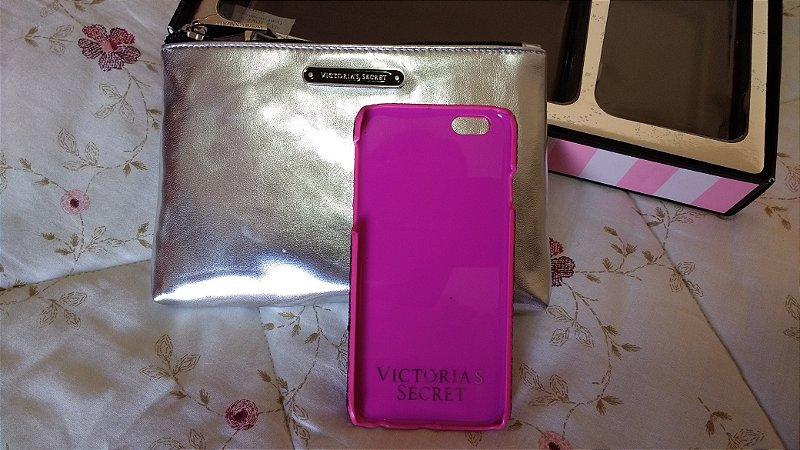551a3b842 Kit Necessarie com Capa Para Iphone 6 Glitada Victorias Secret ...
