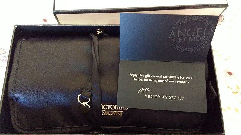 d5e17d484 Bolsa de Mão Victorias Secret Angel Para Noite Luxo 2016 - Cadete ...