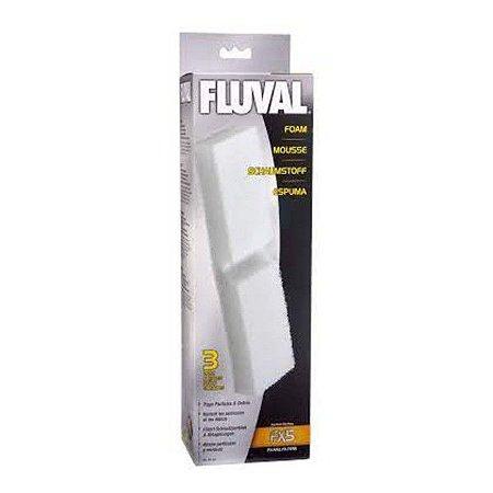 Espuma Filtrante Fluval Fx5/6 3pcs