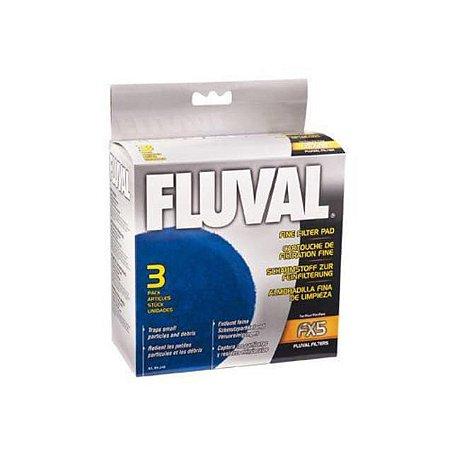 Espuma Filtrante De Poliéster Fluval Fx5 E Fx6 3unidades