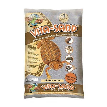 Substrato Répteis Zoo Med Vita Sand Sahara Slate 2,25kg