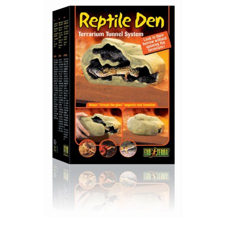 Toca Para Répteis Exo Terra  Gecko Pogona Corn Snake Tam M