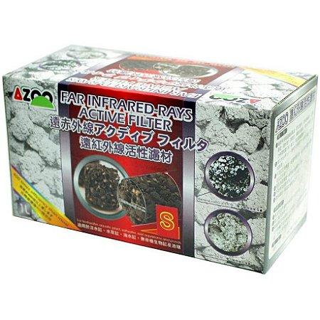 Mídia Raios Infravermelhos Azoo 1l 400 X Melhor Que Cerâmica