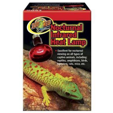 Lâmpada para Répteis Noturna Infrared Zoo Med 75W