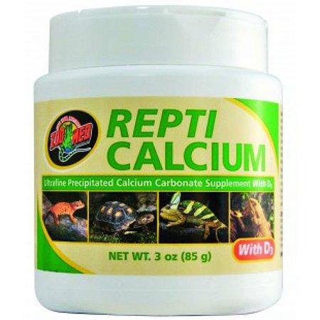 Cálcio Zoo Med Repti Calcium com D3 85g