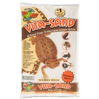 Substrato para Terrário de répteis ZooMed Vita-Sand Sonoran White