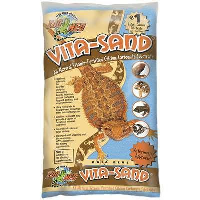 Substrato para Terrário ZooMed Vita-Sand Baja Blue