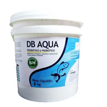 Probiótico Vitamína Para Peixes E Camarão Db Aqua 3 Kg