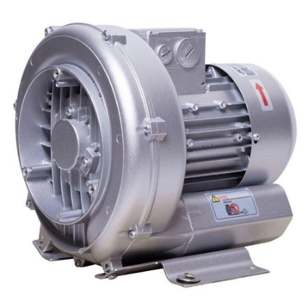 Compressor Soprador Radial Jkw009 0,5 Kw 0,68 Cv Trifásico