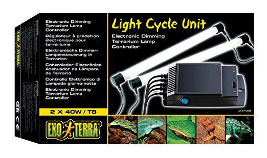 Reator Programável para Lâmpadas UVA UVB Exo Terra 40W 2x40