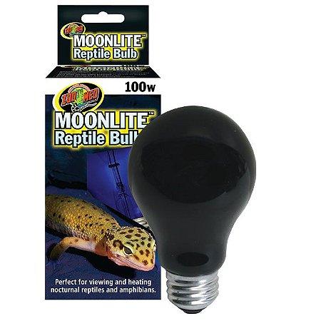 Lâmpada Para Répteis Noturna Moonlite Zoo Med 100W
