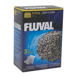 Carvão Ativado Zeo Carb Fluval 3x150g