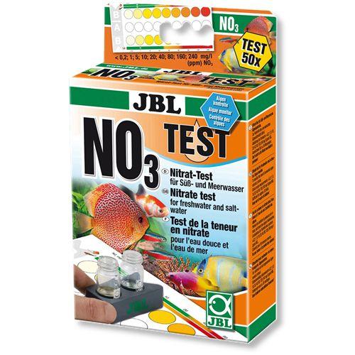Teste de Nitrato JBL NO3 50 Testes Aquários Doce Ou Salgado