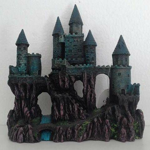 Enfeite Castelo Decoração Para Aquários