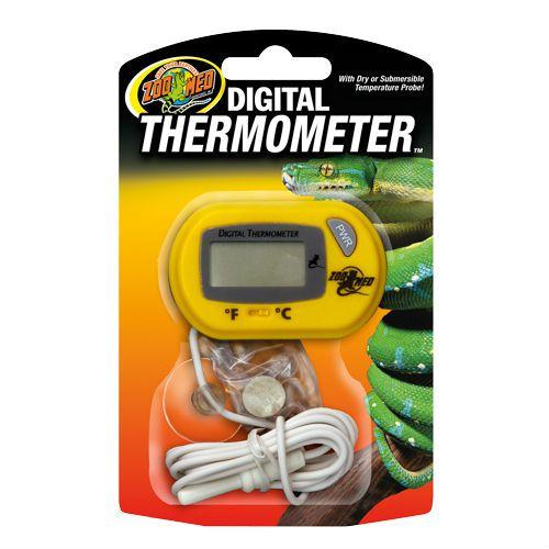 Termômetro Digital Zoo Med  Com Sensor Para Terrário TH-24