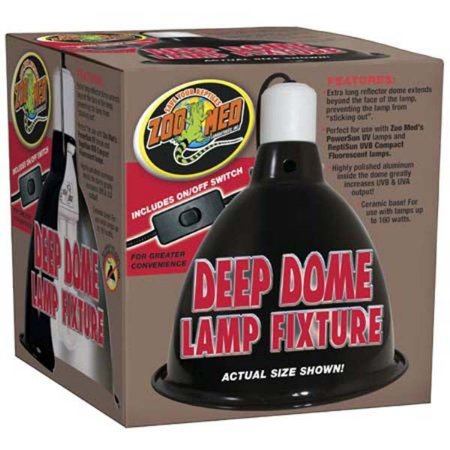 Luminária Deep Dome Zoo Med Refletor Para Terrários LF-17