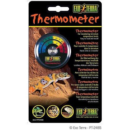 Termômetro Analógico Exo Terra Para Terrário
