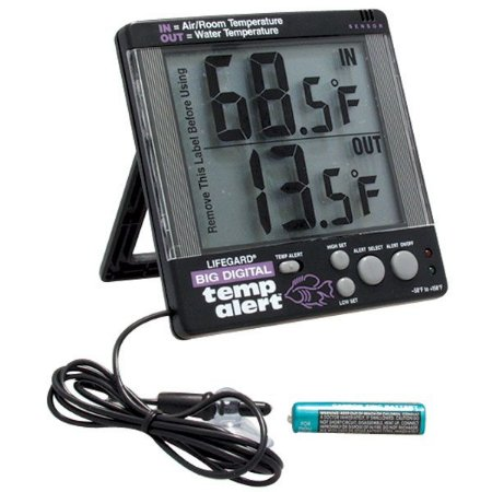 Termômetro Digital  Com Sensor Lifegard Com Alarme