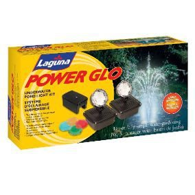 Conjunto Luminária Sub Aquática Para Lagos Power Glo Hagen