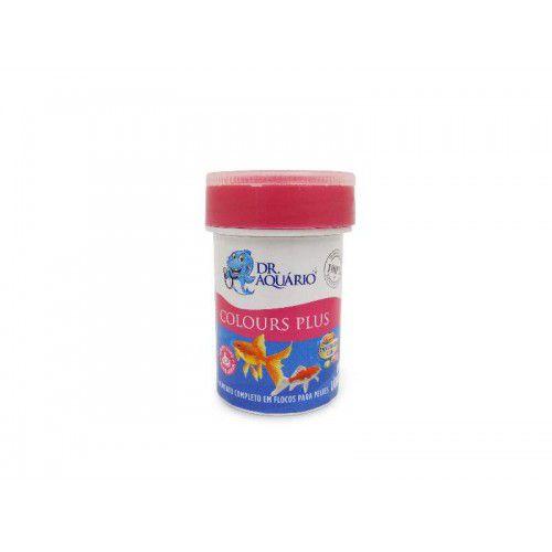 Ração Dr Aquário Para Peixes Colours Plus 10g