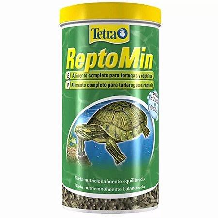 Ração Para Tartaruga Tetra Reptomin 220g Com Vitamina C