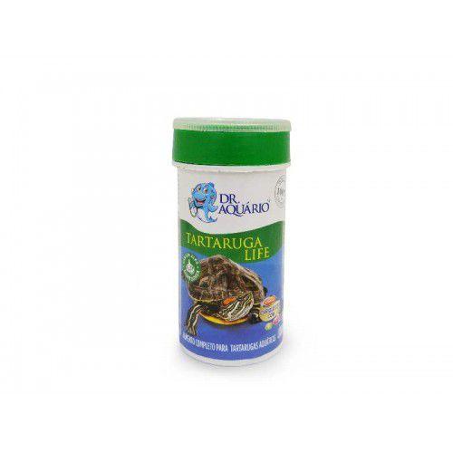 Ração Dr Aquário Para Tartarugas Life 75g Com cálcio