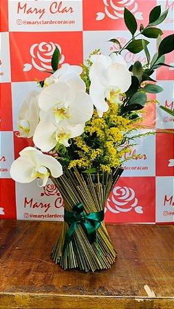 Arranjo de Orquídea Phale com Tango