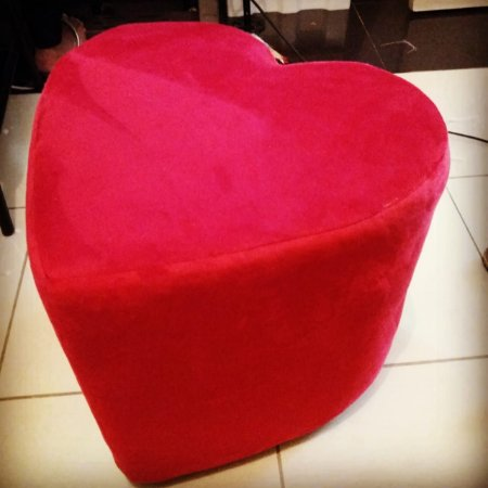 Puff em formato de coração (Sued)