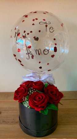 Box Flower Eu Te Amo