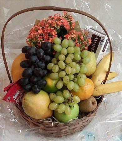 Cesta Simples de Frutas