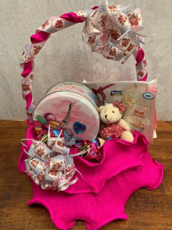 Cesta Maternidade pink