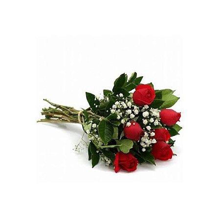 Ramalhete 6 rosas