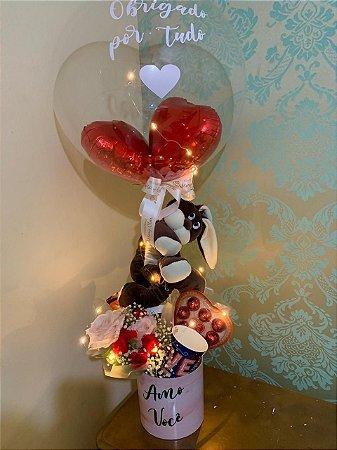 Box Flowers agarradinho