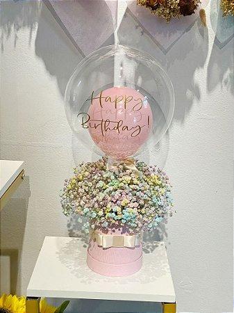 Box Flowers/Translúcido.