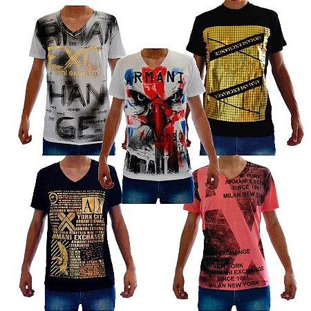 Camiseta Armani Atacado - Roupas De Marca em Atacado para Revender ... bc908191283