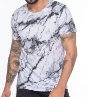 Camiseta Masculina Estilosa Atacado