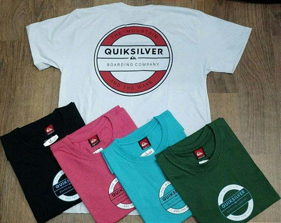 Camiseta Quiksilver Atacado Premium