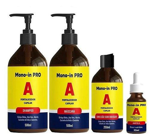 Mono In Pro A Original Crescimento Capilar Acelerado 4 Itens
