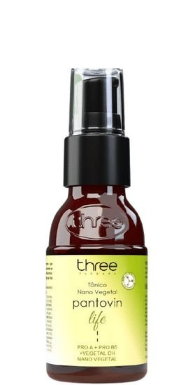Three Therapy Tônico Nano Vegetal Pantovin Life 60ml