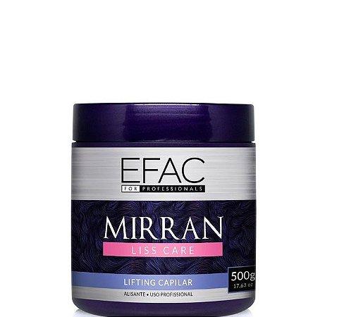 Efac Cosméticos Btox Lifting Capilar Mirran Liss Care Blindagem 500g