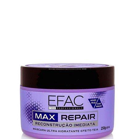Efac Cosméticos Máscara de Reconstrução Imediata Max Repair 250g