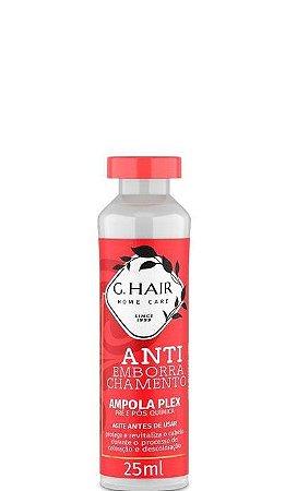 G.Hair Ampola Plex Pré e Pós Química Anti Emborrachamento 25ml