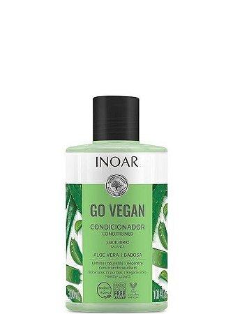 Inoar Go Vegan Condicionador Aloe Vera e Babosa Crescimento Saudável 300ml