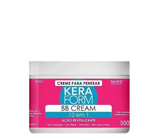 Skafe Keraform BB Cream 12 em 1 Ação Antioxidante 500g