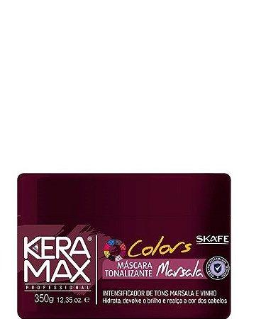 Skafe Keramax Máscara Tonalizante Marsala Colors 350g
