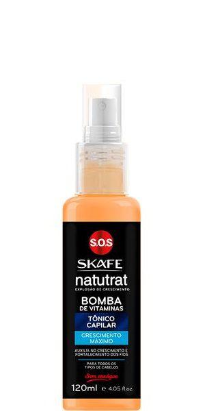 Skafe Natutrat Bomba de Vitaminas Tônico Capilar Crescimento Máximo 120ml