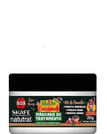 Skafe Natutrat SOS Mutcho Crescimento Máscara de Tratamento 350g