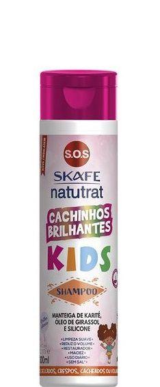 Skafe Natutrat SOS Cachinhos Brilhantes Shampoo Kids 300ml